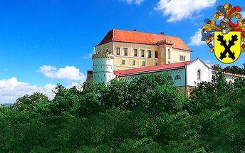 Romantický pobyt na zámku Letovice pro 2