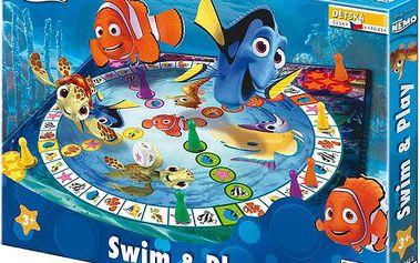 Společenská hra pro nejmladší hráče Finding Nemo: Poplav si hrát