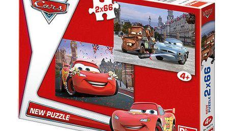 Dino Puzzle Cars: Blesk McQueen a přátelé 2x66