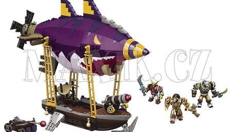 Megabloks World of Warcraft Goblin Zeppelin Ambush