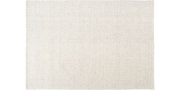 Vlněný koberec Stream Grey, 170x240 cm