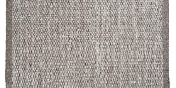 Vlněný koberec Asko Light Grey, 70x140 cm