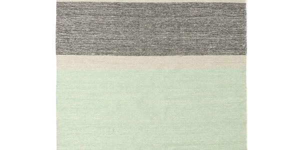 Vlněný koberec Pulvis Plum, 200x300 cm