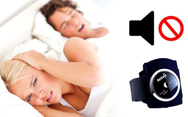 Hodinky proti chrápání Snore Stopper
