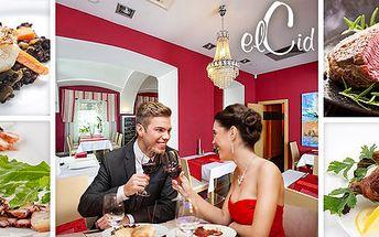 Romantické menu pro dva milovníky jídla