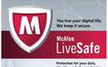 Bezstarostný život v digitální době díky McAfee LifeSafe Virtual Activation Card 1rok
