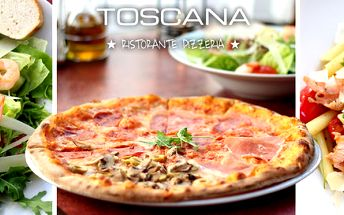 Výborné pizzy, saláty, rizota i těstoviny
