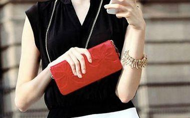 Praktická a elegantní: dámská peněženka z pravé kůže