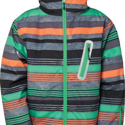 Dětská bunda Boys authentic stance jacket, zelená, 164
