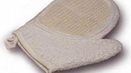 Masážní rukavice pro klasické mytí i peeling pokožky