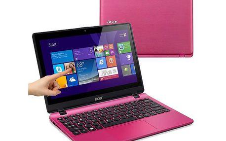 Notebook Acer Aspire V11 Touch růžový