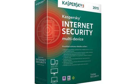 Prémiová ochrana pro vaše počítače Kaspersky Internet Security 2015 - 3 uživatelé - 1 rok CZ