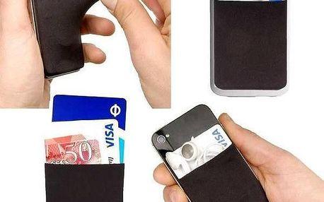 Kapsička na mobil Phone Wallet - jednoduše nalepíte i sloupnete!