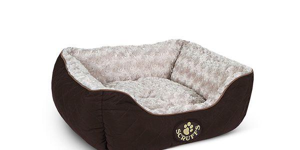 Psí pelíšek Wilton Box Bed S 50x40 cm, hnědý