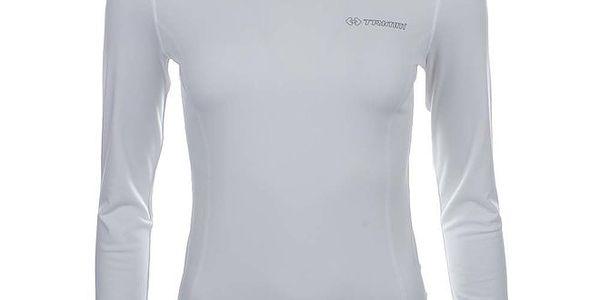 Dámské bílé funkční tričko s roláčkem Trimm