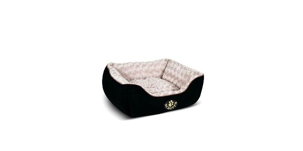 Psí pelíšek Wilton Box Bed S 50x40 cm, černý