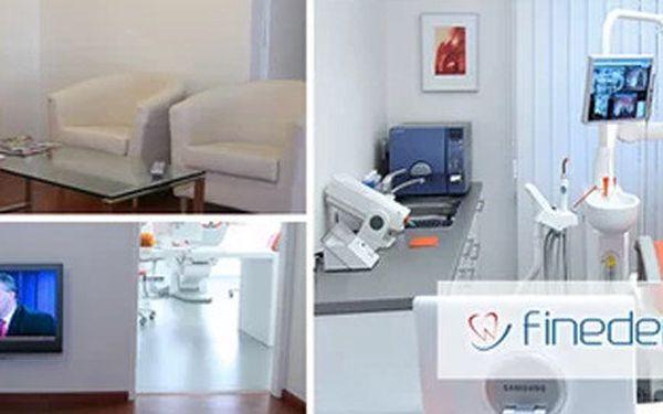 Dopřejte si na klinice Finedent profesionální dentální hygienu