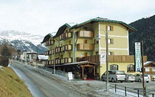 Itálie, oblast Madonna di Campiglio / Pinzolo, polopenze, ubytování v 3* hotelu na 8 dní