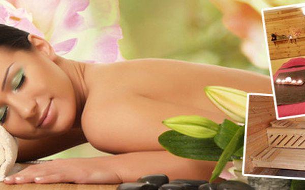 60minutová masáž celého těla dle výběru + sauna a sprcha