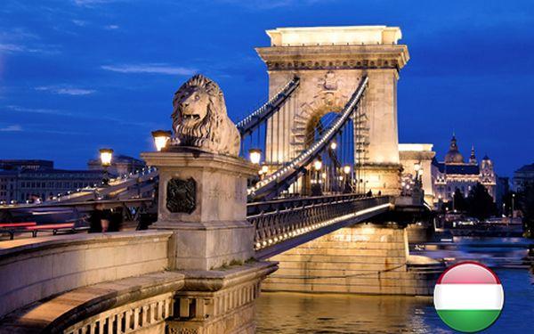 Romantika v Budapešti pro DVA včetně prohlídky města s průvodcem