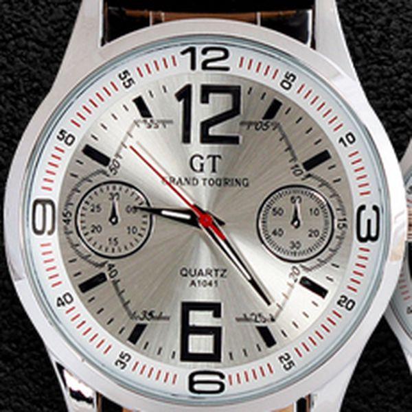 Elegantní pánské hodinky GT: styl pro ty nejnáročnější muže!