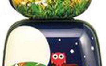 Dětský kufr na kolečkách + batoh Džungle