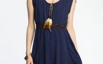 Krásné dámské šaty Review Turn up