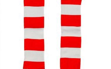 Vysoké proužkaté ponožky Quiksilver vhodné pro zimní sporty