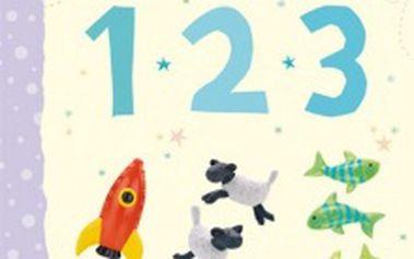 Zábavná obrázková knížka First Picture 123 v angličtině