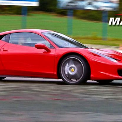 1-3 okruhy v supersportu Ferrari 458 Italia!