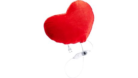 Vyhřívaný polštář Concept PV 2010 ve tvaru srdce