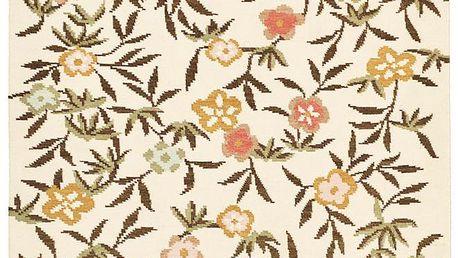 Vlněný koberec Kilim Flowers 176, 160x230 cm - doprava zdarma!