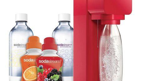 Výrobník sody Sodastream Play Red Le 2v1