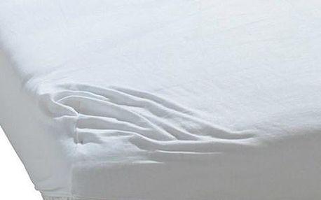 BedTex froté prostěradlo bílá, 90 x 200 cm