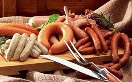 Dvoudenní V.I.P. vstupenka na Slavnosti moravského uzeného na hradě Veveří, gastronomický zážitek.