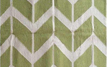 Ručně tkaný koberec Kilim Modern 152, 110x155 cm - doprava zdarma!