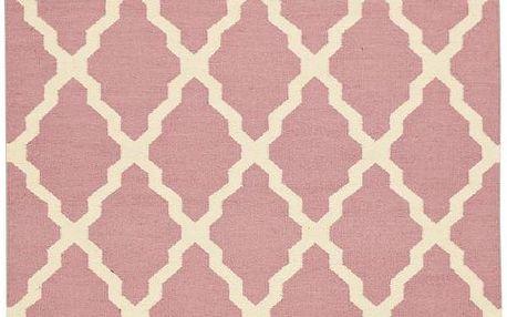 Vlněný koberec Kilim Pink, 160x230 cm - doprava zdarma!