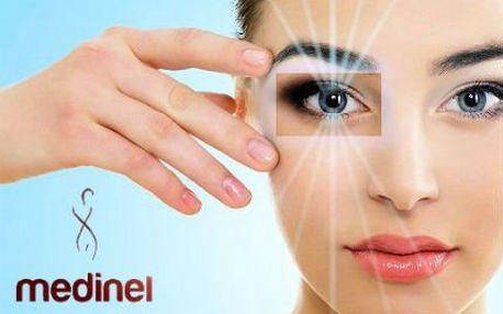 Špičková klinika Medinel: Plastika očních víček s pooperační péčí.