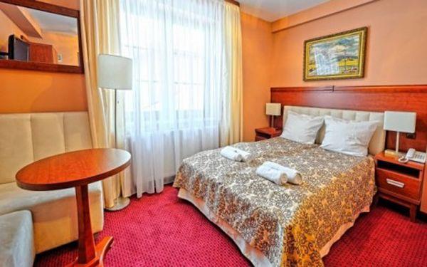 Krakov luxusně s wellness ve stylovém hotelu s dobrou dostupností centra