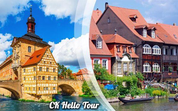 Nádherný Bamberg a zastávka v Bayreuthu