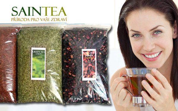 3 druhy půlkilových čajů dle vašeho výběru