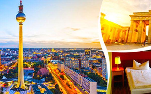 Víkend v Berlíně a zámek Sanssouci v Postupimi s ubytováním. Pro 1 osobu.