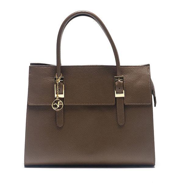 Dámská kabelka se zlatými prvky Carla Ferreri