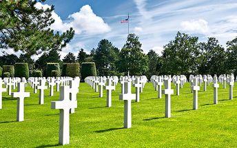 5denní zájezd vylodění v Normandii s návštěvou Paříže pro 1
