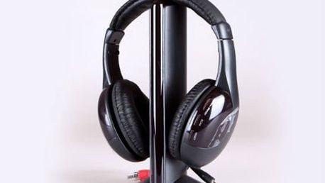 Multifunkční bezdrátová sluchátka 5v1