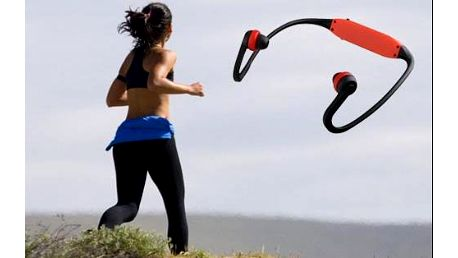 Bezdrátový sportovní MP3 přehrávač ve třech barevných provedeních. Poštovné je v ceně!