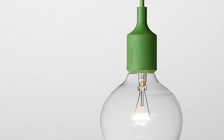Muuto lustr E27 SOCKET, zelený