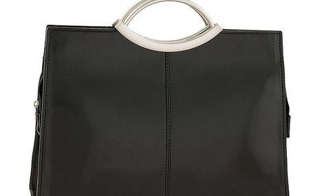 Dámská černá hladká kabelka Ore 10