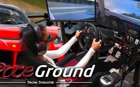 Využijte4 našlapané závodní automobilové simulátoryve zbrusu nové stylové provozovně společnostiRaceGround v Praze 6 - Dejvicích! Stejnýsoftware, který trénuje i jezdce Formule 1! Nejlepší si zazávodí i s vítězem Formule GP2 Josefem Králem!