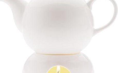 Čajník a ohřívač White Basics 1l - Maxwell&Williams